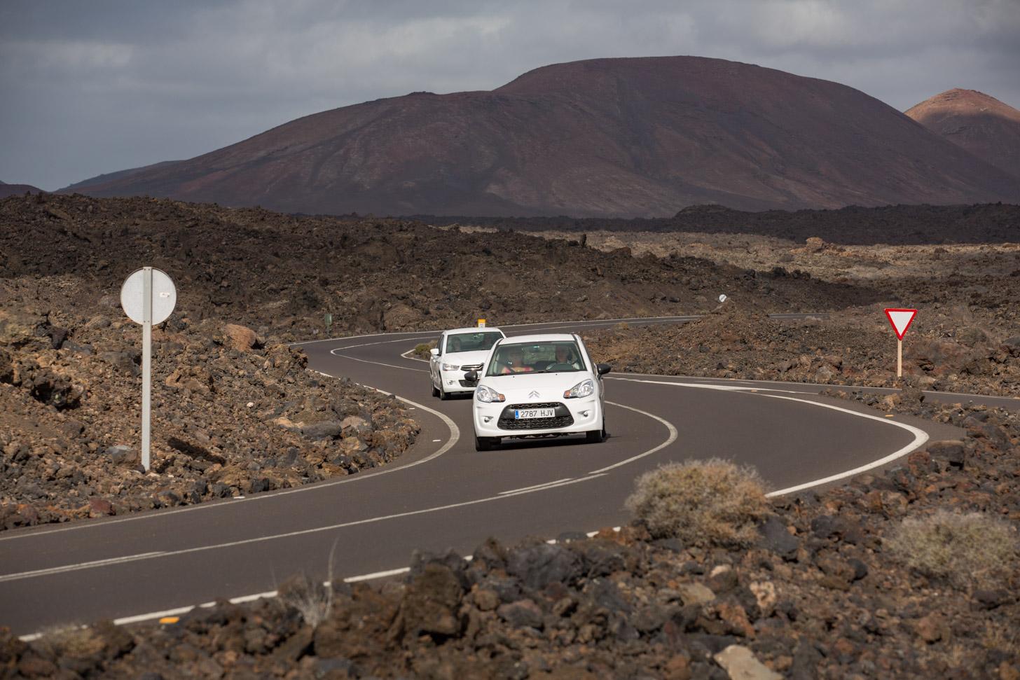 Autorijden op Lanzarote