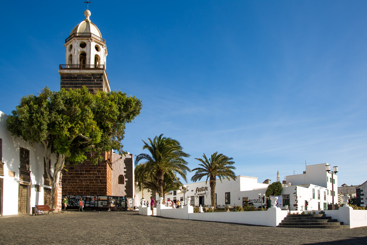 Het prachtige dorp Teguise op Lanzarote
