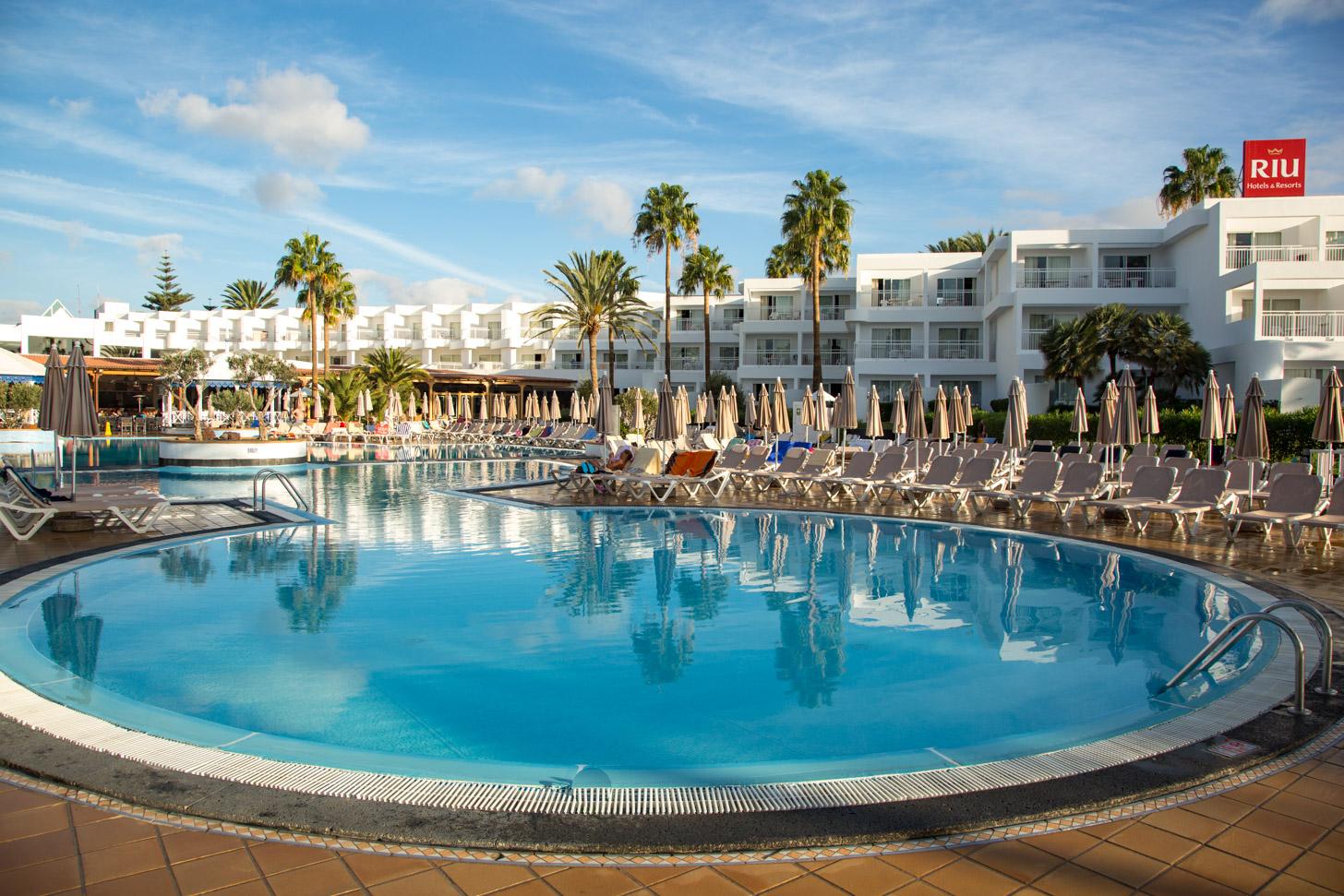 RIU hotel op Lanzarote
